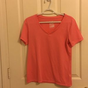 Nike v-neck tee shirt